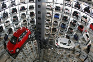 Многоэтажный паркинг
