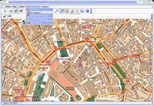Электронная карта