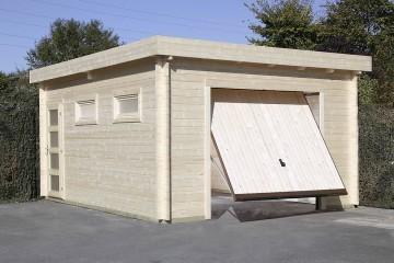 Оформить гараж