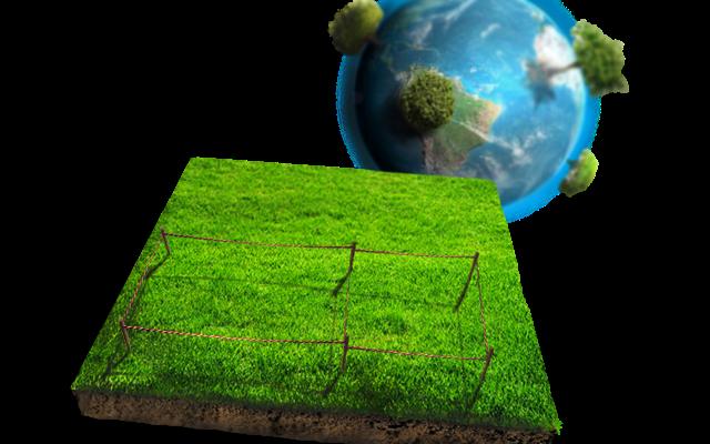 Оформление земли
