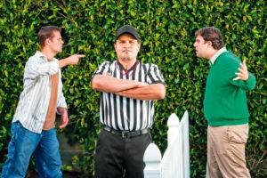 Спор соседей