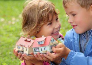 Как продать квартиру с выделенными долями детей