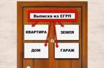 Выписка из ЕГРП