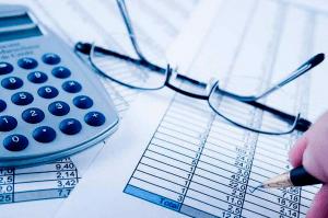 очки и калькулятор