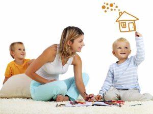 ребенок и дом