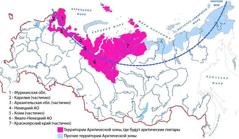 Арктический гектар: как получить – подробная инструкция