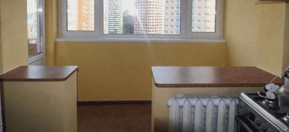 Объединение балкона с кухней: законна ли перепланировка